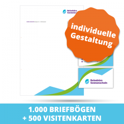 Marketing-Paket S mit Druck